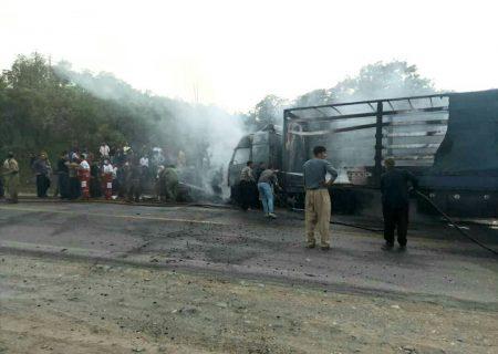 تصادف در محور مریوان سروآباد سه کشته برجای گذاشت