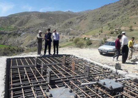 احداث بزرگترین پل شیشهای معلق خاورمیانه در روستای نگل
