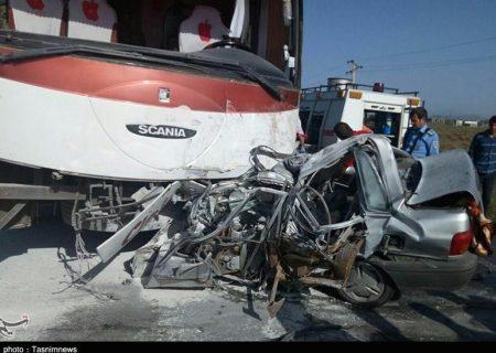 وقوع دو تصادف مرگبار در کردستان