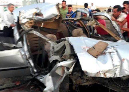سه تبعه افغان بر اثر تصادف در جاده دیواندره – سقز  جان باختند
