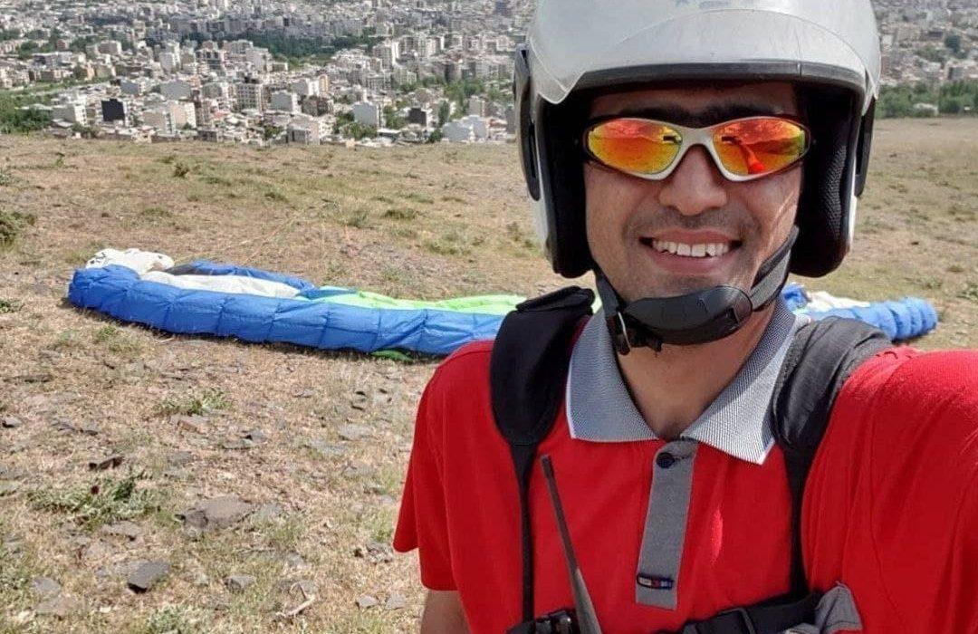 مرگ پاراگلایدر سوار بیجاری در اثر برخورد با کوه