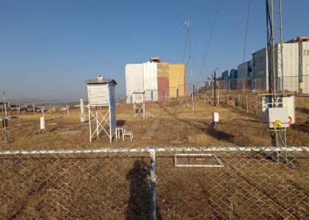 بهرهبرداری از نخستین ایستگاه پایش گرد و غبار غرب کشور در بانه