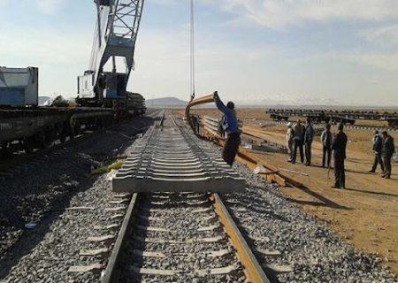 اتصال ریلی راهآهن همدان – سنندج فردا به پایان میرسد